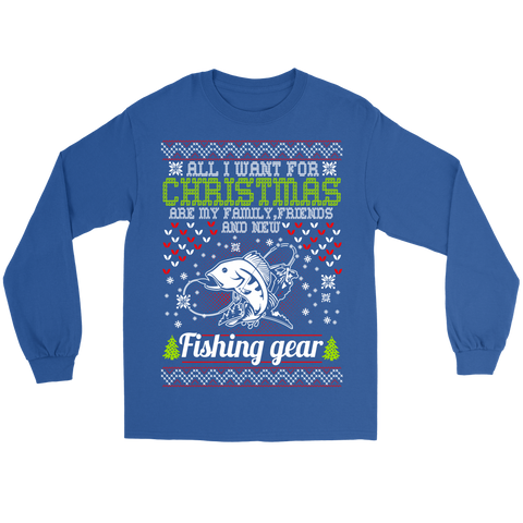 All I Want For Christmas Long Sleeve