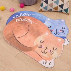 Anti-Slip Cat-Shaped Floor Mats