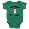 Image of Don't Stop Believing Santa Apparel