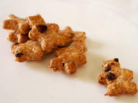 Carob Chip Teddy Bears