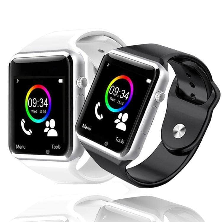 HiTech™Bluetooth Fitness Health Smart Watch With Sim, Camera, and Stealth Recorder Smart Watch Overstocktogo