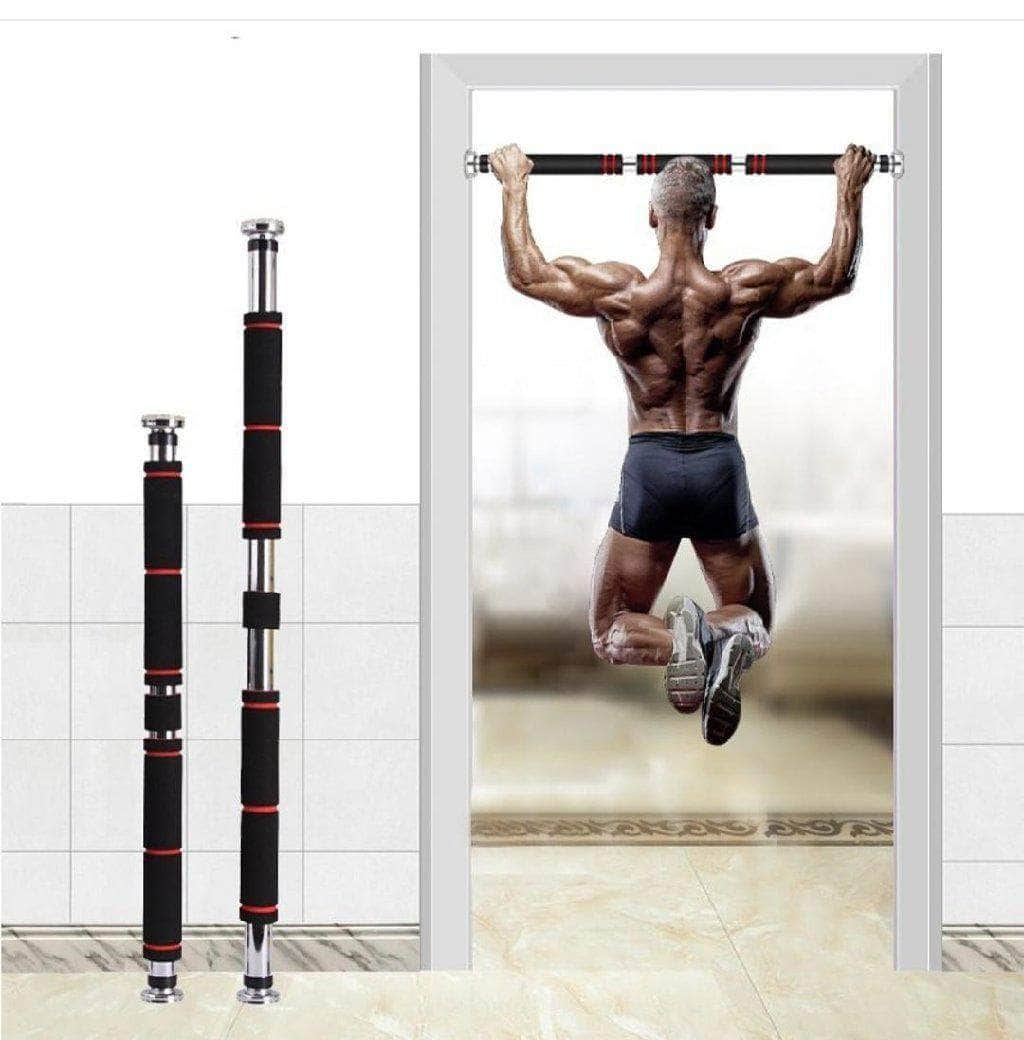 Perfecto™ Heavy Duty Pull Up Bar Multi Gym Adjustable Door Pull Up Bar Fitness Overstocktogo