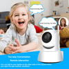 Wifi Baby Monitor Camera Wireless Video with Two Way Audio and App Gadget Overstocktogo