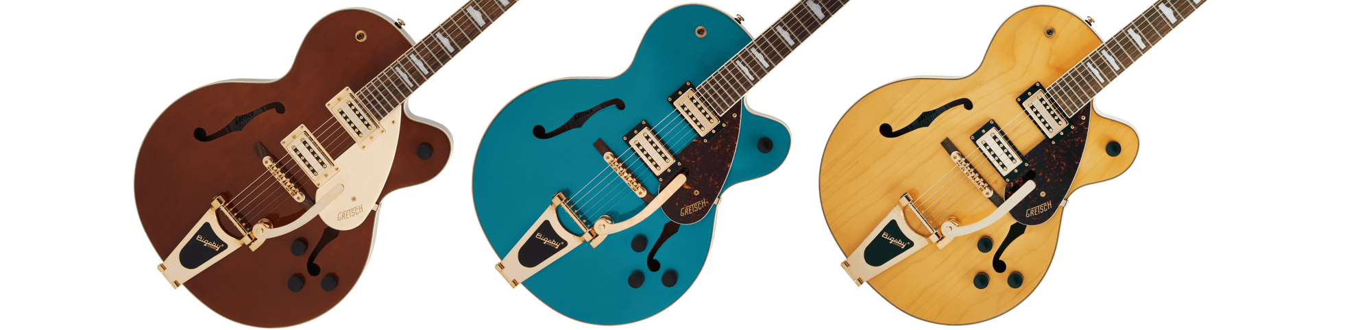 Gretsch drop exciting new Streamliner Hollow Body model, the G2410TG.
