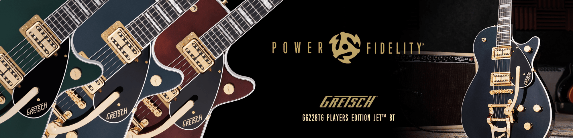 JUST ANNOUNCED: The all new Gretsch G6228TG Players Edition Jets.