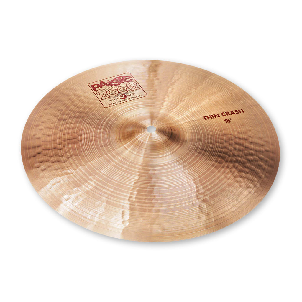 "Paiste - 18"" - 2002 Thin Crash"