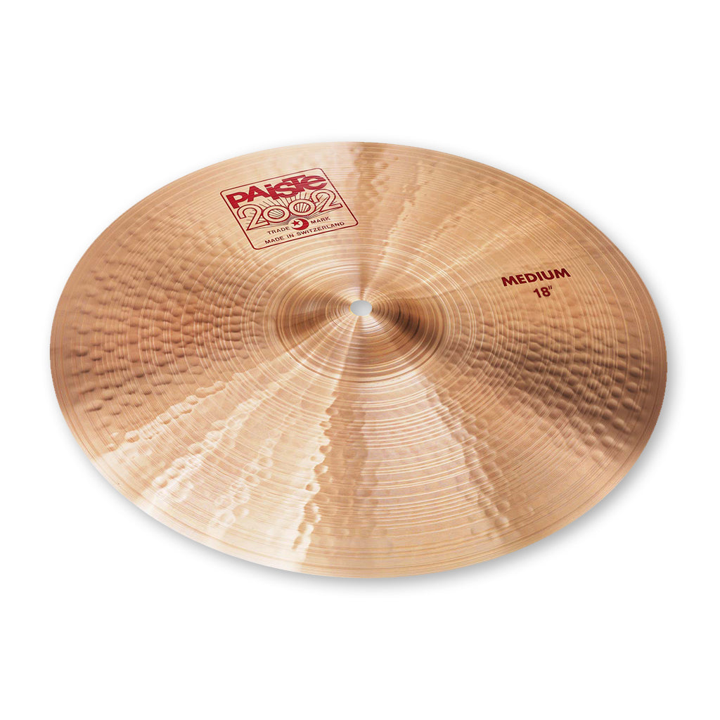 "Paiste - 18"" - 2002 Medium Crash"
