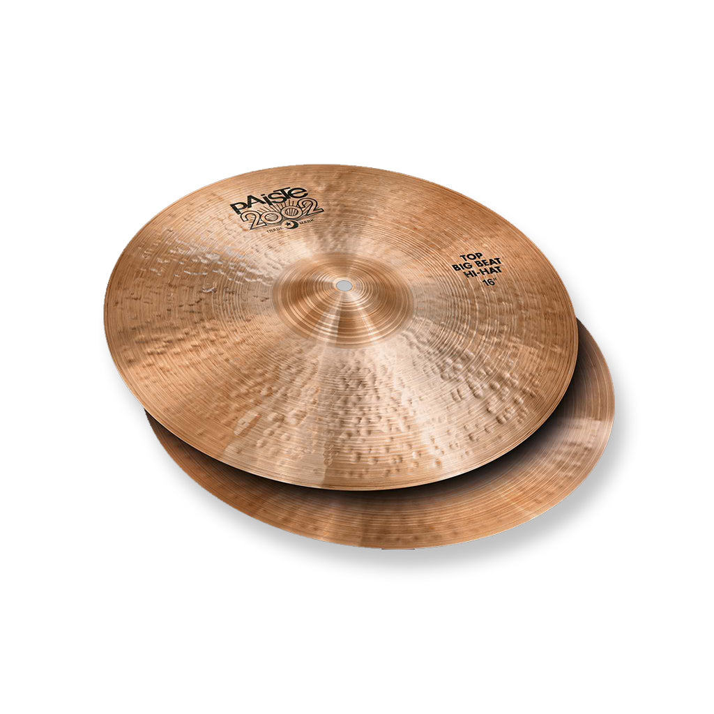 "Paiste - 15"" 2002 Big Beat - Hi Hats"