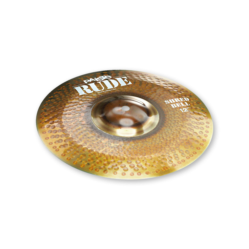"Paiste - 12"" - Rude Shred Bell"