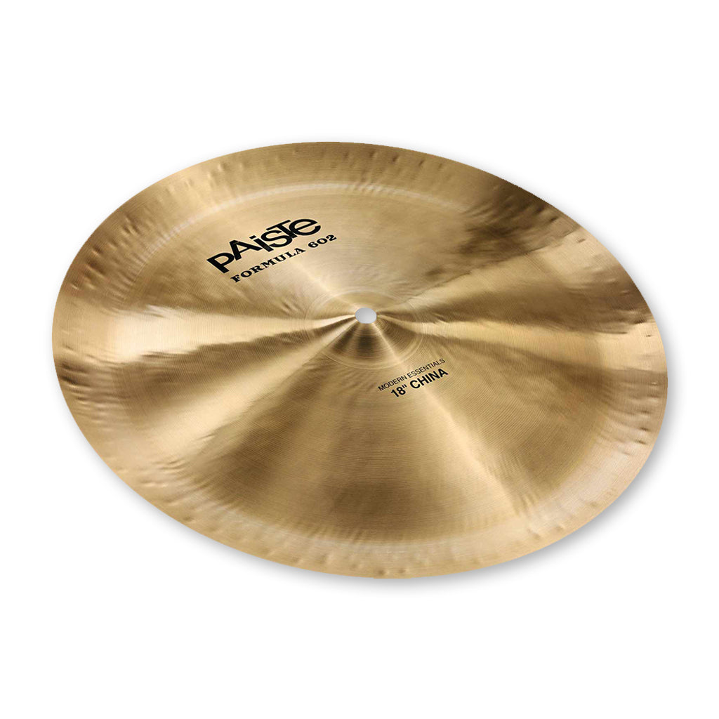 "Paiste - 18"" - Formula 602 Modern Essentials China"