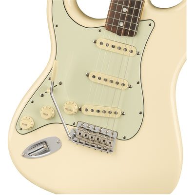 Fender American Original 60s Stratocaster Left Handed - Olympic White - Rosewood Fretboard