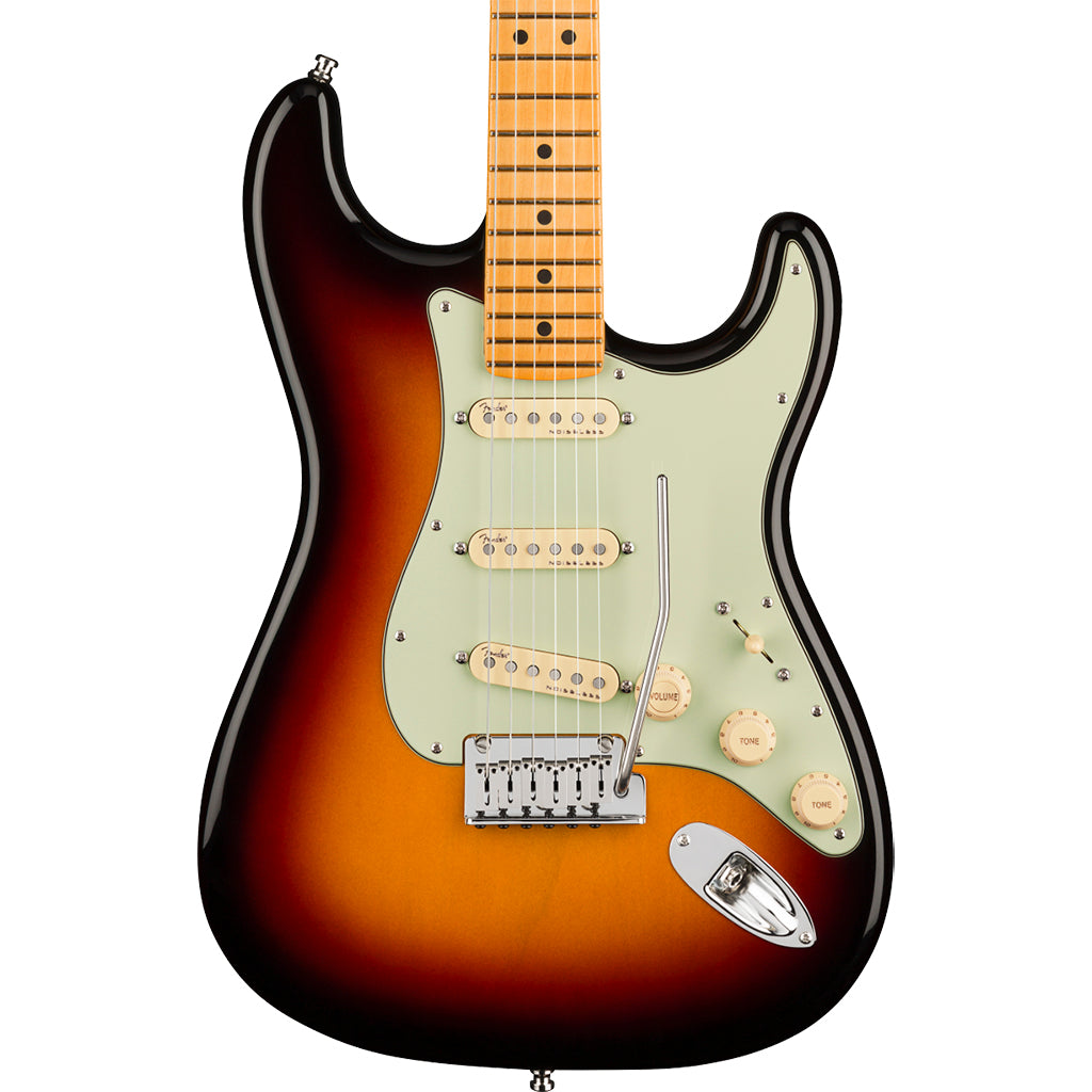 Fender American Ultra Stratocaster - Ultraburst - Maple Neck