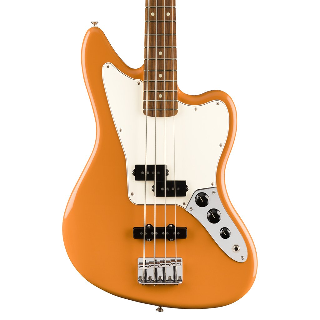 Fender Player Jaguar Bass - Capri Orange - Pau Ferro
