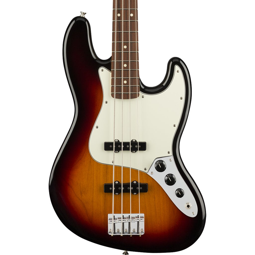 Fender Player Jazz Bass - 3 Tone Sunburst - Pau Ferro