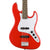 Squier Affinity Jazz Bass - Race Red - Laurel Fretboard