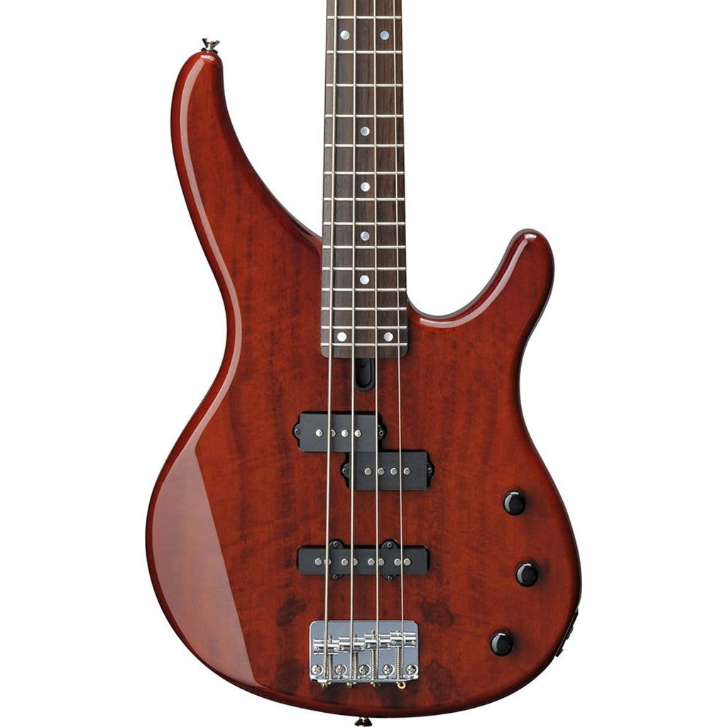 Yamaha TRBX174EW Bass Guitar - Root Beer