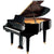 Yamaha GC2MPE Baby Grand Piano - Polished Ebony