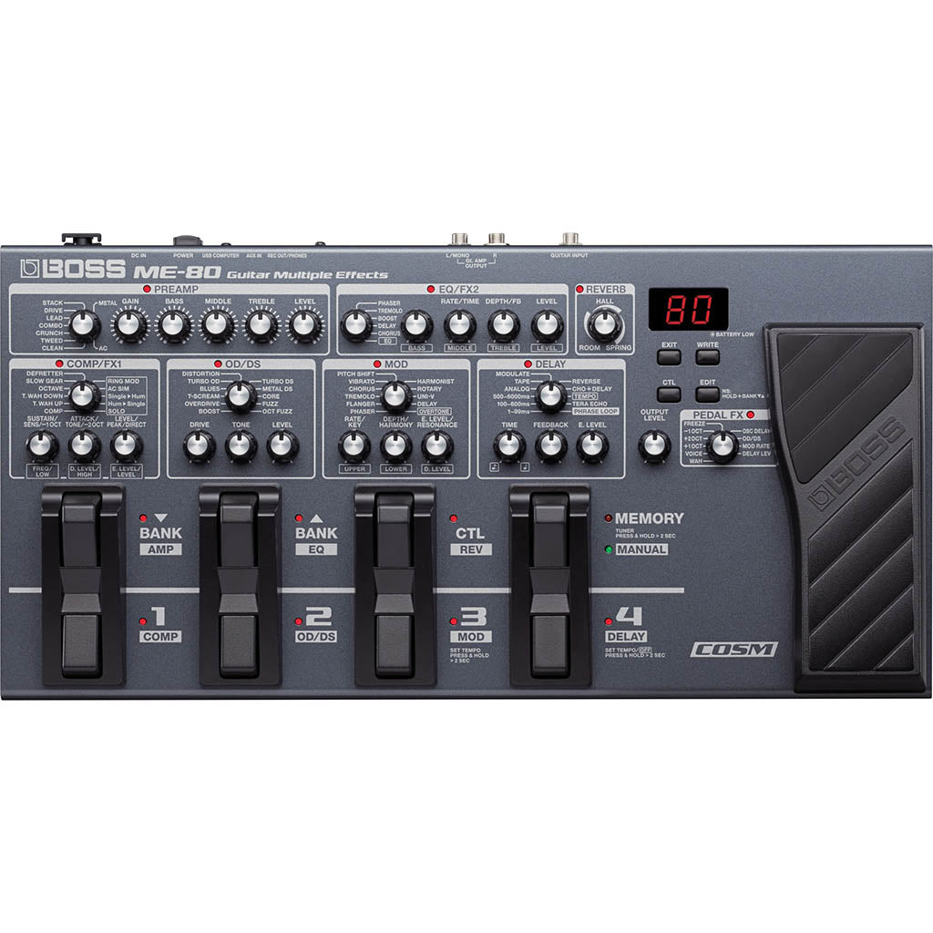 Boss ME80 Multi Effects Pedal