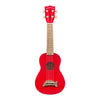 Makala Soprano Ukulele Dolphin Bridge - Red