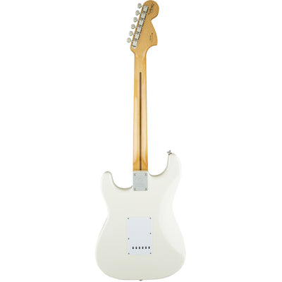 Fender Jimi Hendrix Stratocaster - Olympic White- Maple Neck - Back