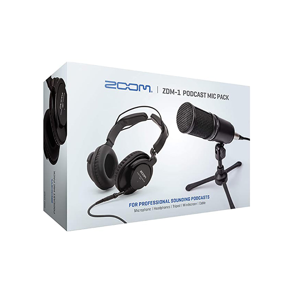 Zoom ZDM-1PMP Podcast Mic Pack