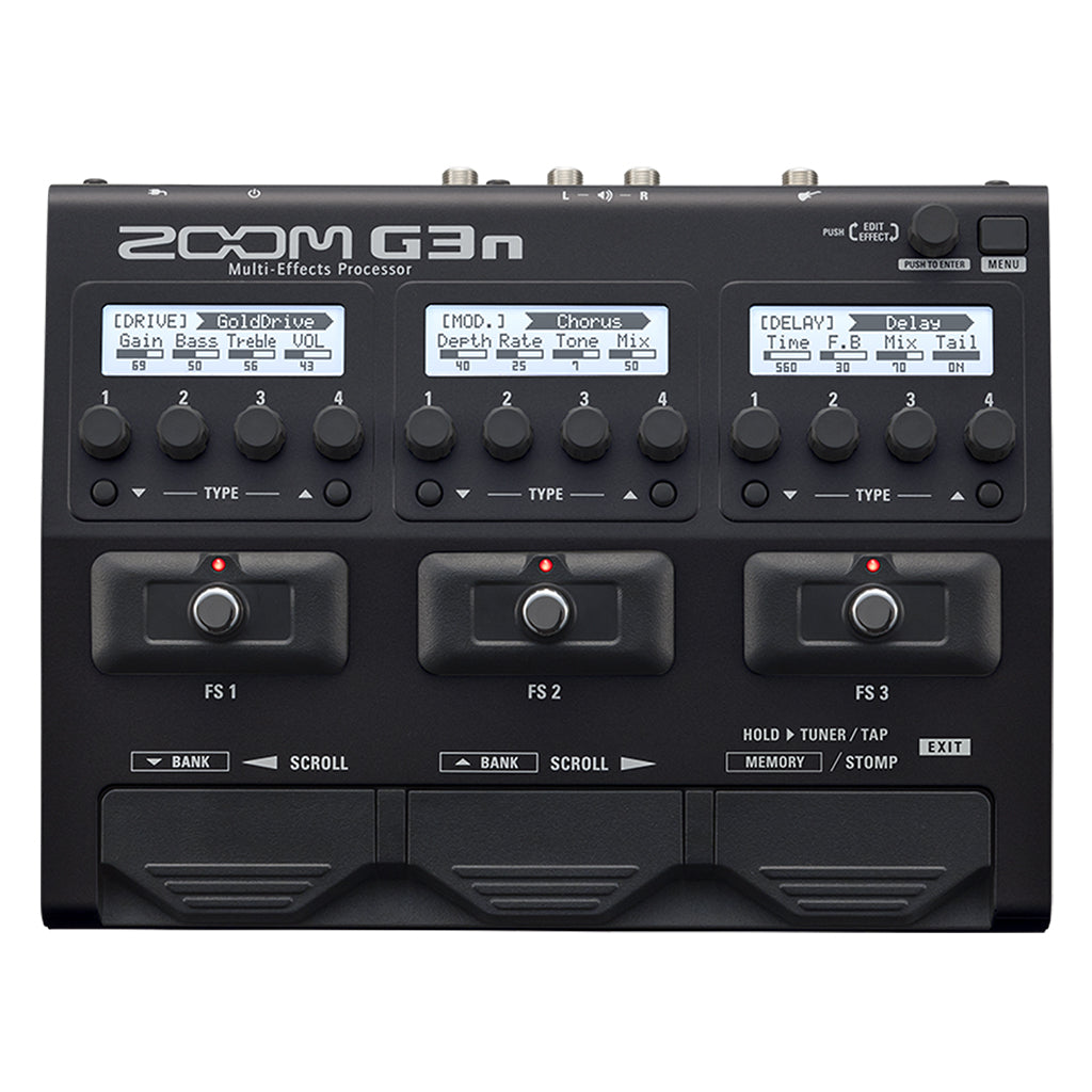 Zoom G3n Guitar Multi Effects Processor