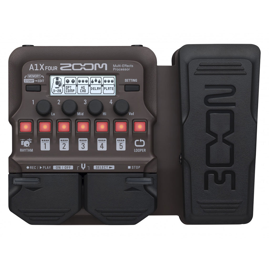Zoom A1X Four Multi Effects Processor