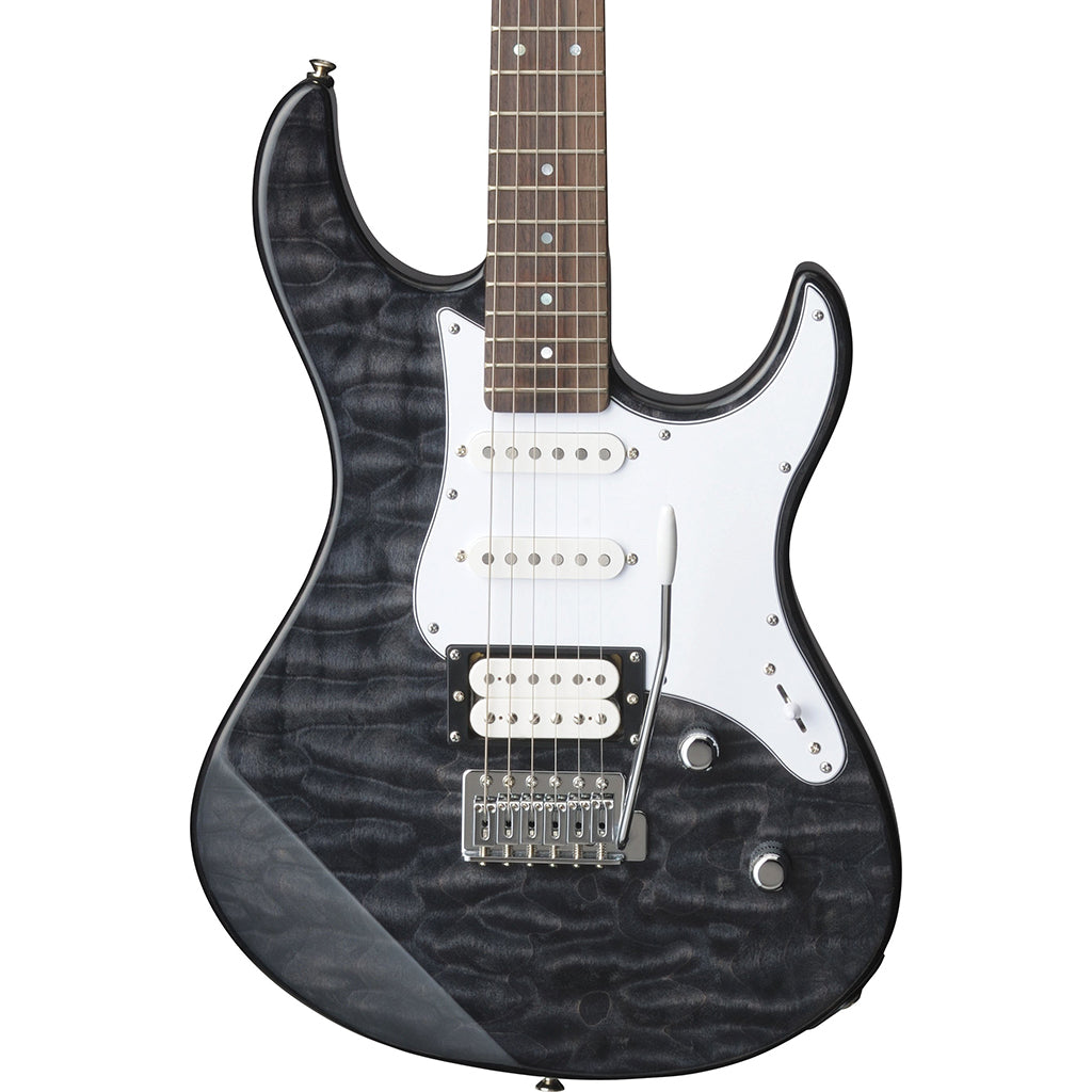 Yamaha - Pacifica 212 - Translucent Black Quilt Top