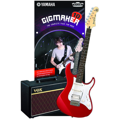 Yamaha Gigmaker 10 Electric Guitar Pack - Red Metallic