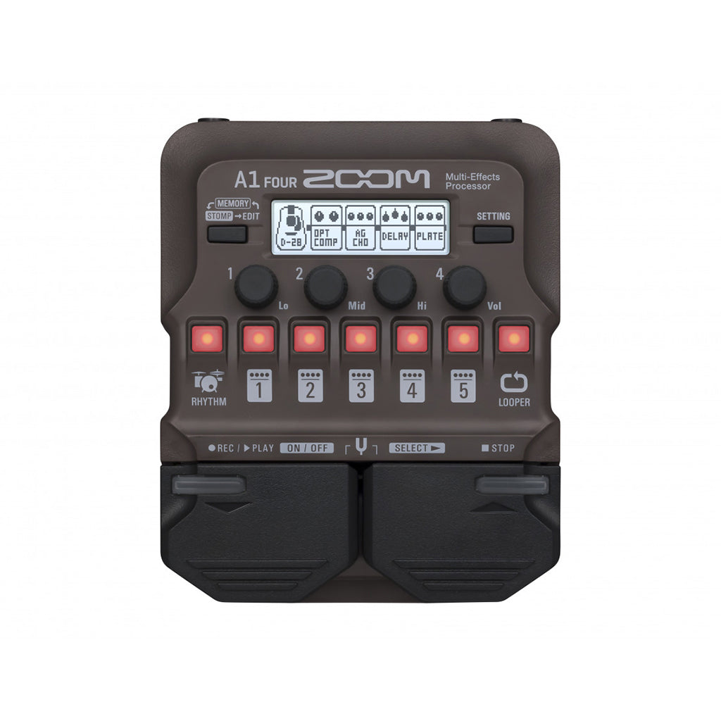 Zoom A1 Four Multi Effects Processor