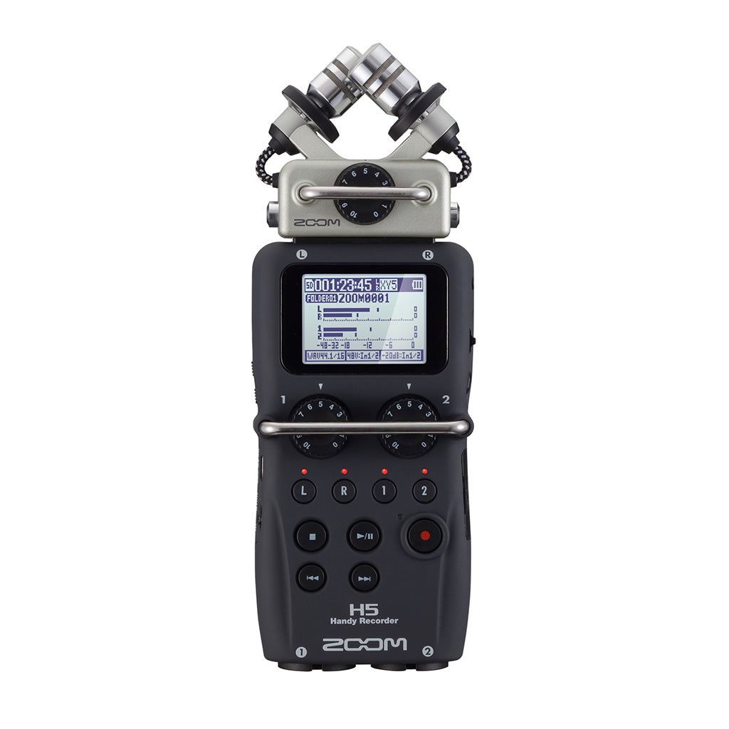 Zoom - H5 - 4-channel Handy Recorder