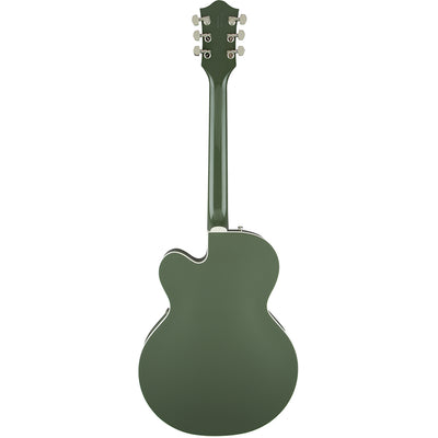 Gretsch G6118T-SGR Players Edition Anniversary - 2 Tone Smoke Green - Back