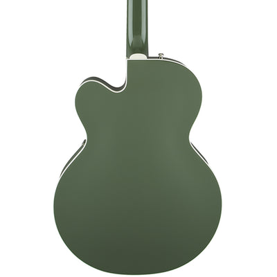 Gretsch G6118T-SGR Players Edition Anniversary - 2 Tone Smoke Green - Hero