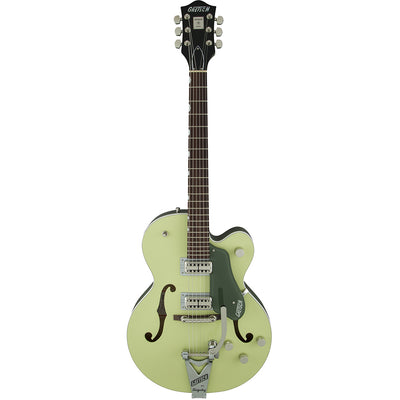 Gretsch G6118T-SGR Players Edition Anniversary - 2 Tone Smoke Green - Front