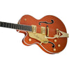 Gretsch G6120T-LH Players Edition Nashville Left Handed - Orange - Side