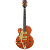 Gretsch G6120T-LH Players Edition Nashville Left Handed - Orange - Front