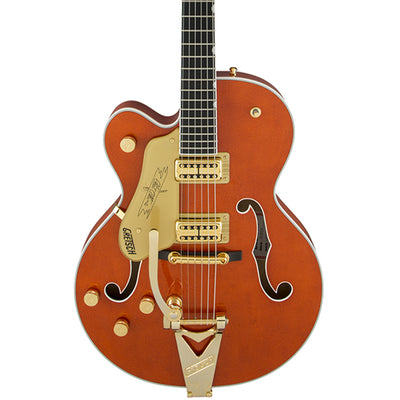 Gretsch G6120T-LH Players Edition Nashville Left Handed - Orange - Hero