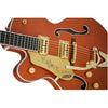 Gretsch G6120T-LH Players Edition Nashville Left Handed - Orange - Body