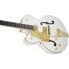 Gretsch G6136T-LH Left Handed Players Edition White Falcon - Side