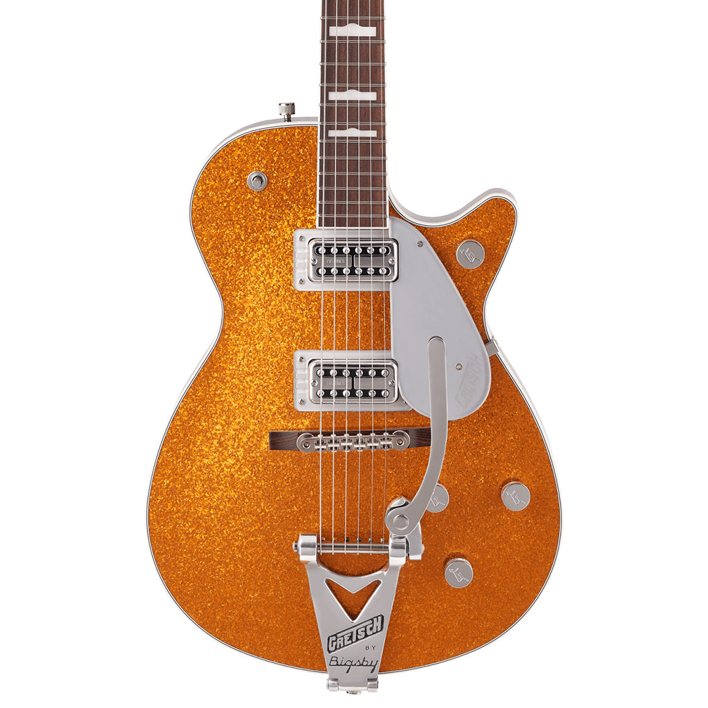 Gretsch - G6129T-89 Vintage Select '89 Sparkle Jet™ with Bigsby® - Rosewood Fingerboard - Gold Sparkle