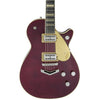 Gretsch G6228FM Players Edition Jet - Flame Maple Dark Cherry Stain