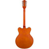 Gretsch G5422T Electromatic Hollowbody Double Cut - Orange Stain - Back