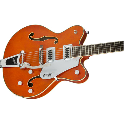 Gretsch G5422T Electromatic Hollowbody Double Cut - Orange Stain - Side