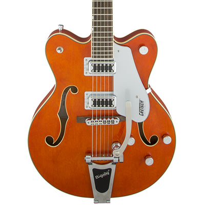 Gretsch G5422T Electromatic Hollowbody Double Cut - Orange Stain - Hero