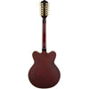 Gretsch G5422-12 Electromatic Hollowbody 12 String - Walnut Stain - Back