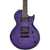 Jackson JS Series Monarkh SC JS22Q - Transparent Purple Burst - Amaranth Fingerboard