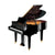 Yamaha GC1MPE Baby Grand Piano - Polished Ebony
