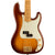 Fender - 75th Anniversary Commemorative Precision Bass® - Maple Fingerboard - 2-Color Bourbon Burst