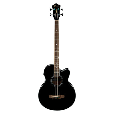 Ibanez AEB8E Acoustic Bass - Black
