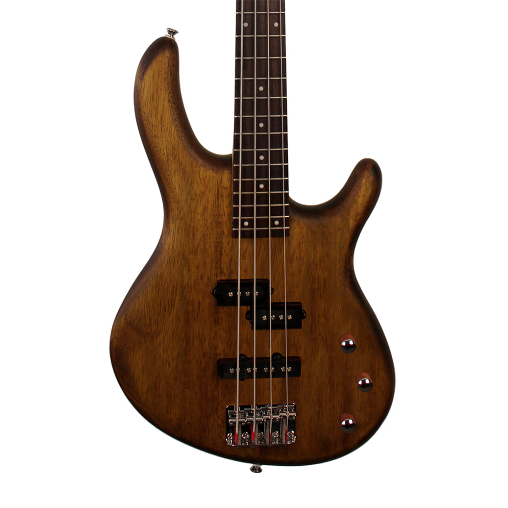 Cort Action PJ Bass Open Pore Walnut